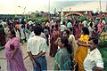 Crowd - Dinosaurs Alive Exhibition - Science City - Calcutta 1995-June-July 509.JPG
