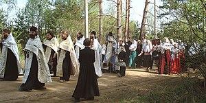Crucession Davidovo-Gora- Elizarovo-Lyahovo Guslitci Moscow reg 8528