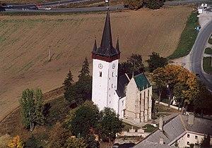 Spišský Štvrtok - Church of St. Ladislaus in the village
