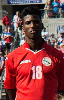 Daniel Luis Sáez Cuban footballer