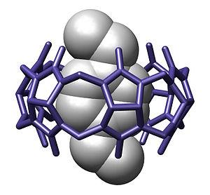 Supramolecular chemistry - Image: Cucurbit 6 uril Acta Crystall B Stru 1984 382