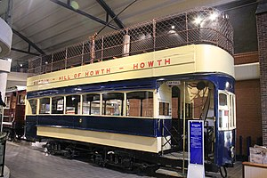 Hill of Howth Tramway - No. 4 at Cultra