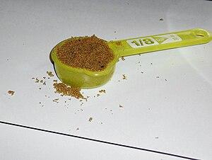 Scoop (utensil) - A measuring scoop