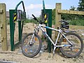 Cycle gate to nowhere - geograph.org.uk - 194476.jpg