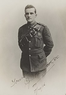 a head and torso portrait of a male in military uniform