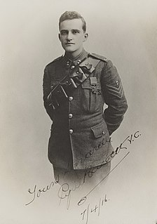 Cyril Bassett Recipient of the Victoria Cross