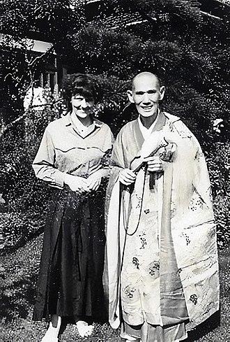 Hakuun Yasutani - Yasutani Rōshi and Brigitte D'Ortschy