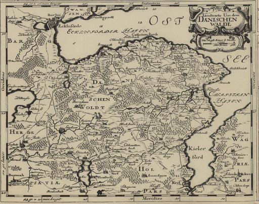 Dänischer Wohld 1652