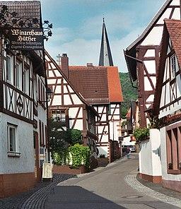 Dörrenbach, the Hauptstraße