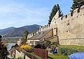 Dürnstein - Stadtmauer im Süden.JPG