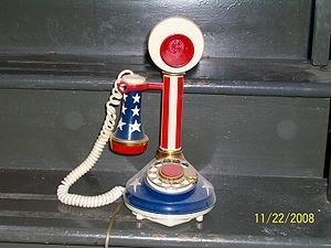 Design Line telephone - Image: DECO TEL