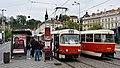 DPP 7142, 8449, Malostranská (tram stop, Klárov), 2019 (01) 05.jpg