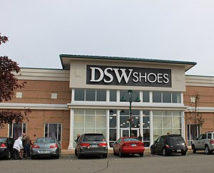 DSW, Inc. - DSW store at Green Oak Village Place in Brighton, Michigan