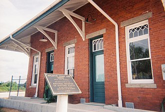 National Register of Historic Places listings in Pasco County, Florida - Image: Dade City ACL Railroad Depot