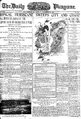 Daily Picayune 21 Sept 1909 Hurricane Front Page.png