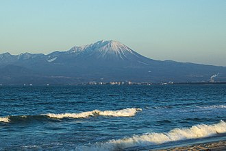Tottori Prefecture - Panoramic view of Mount Daisen, Yonago