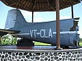 Dakota VT-CLA tail replica, Ngoto, Bantul.JPG