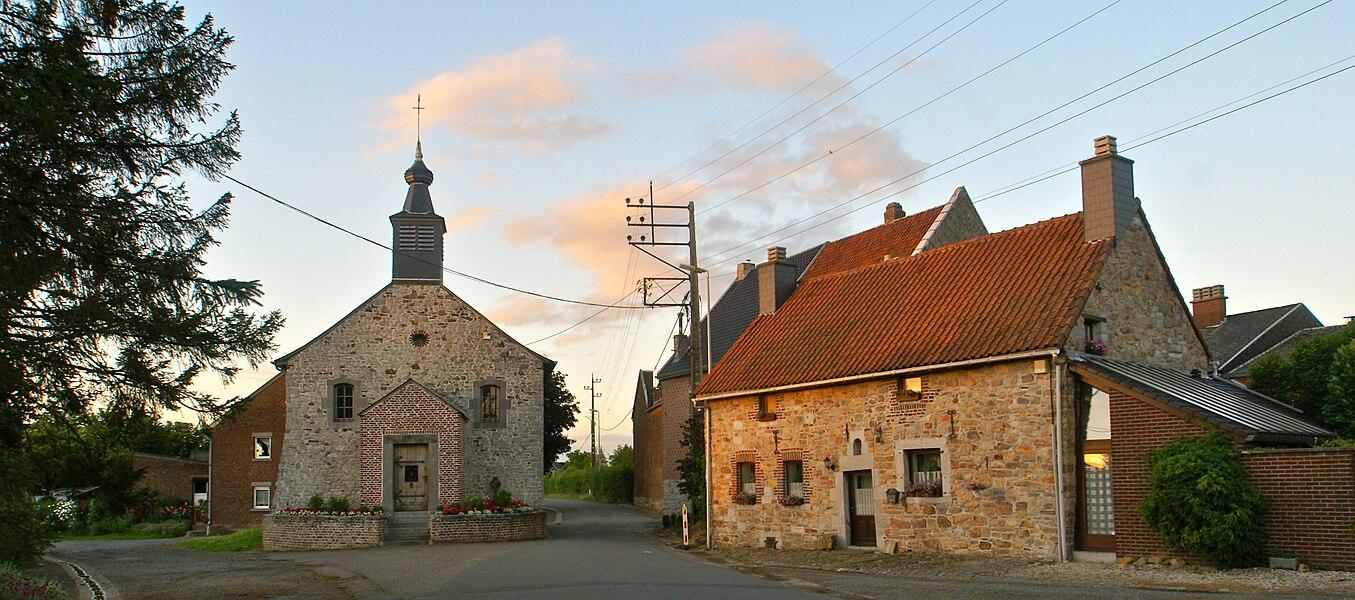 Dalhem (Belgium): Bombaye (Bolbeek), Sangville Chapel