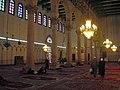 Damaskus, Omayadenmoschee, Innenraum (37819312435).jpg