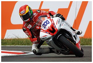 Dan Linfoot British motorcycle racer