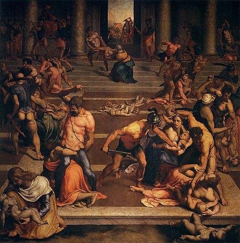 Michelangelo by Daniele da Volterra, hist friend