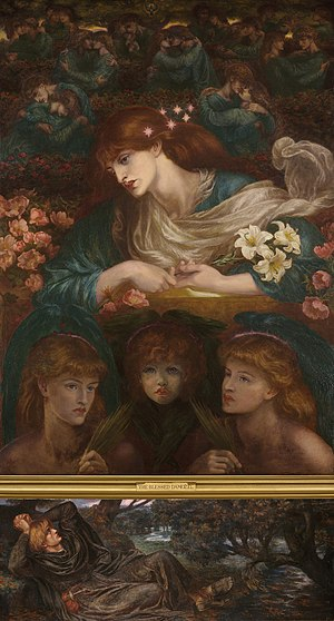 The Blessed Damozel - Image: Dante Gabriel Rossetti The Blessed Damozel