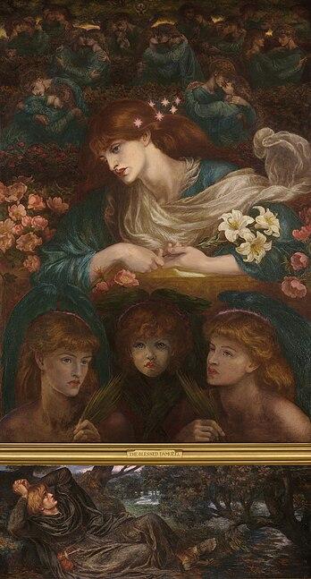 Bestand:Dante Gabriel Rossetti The Blessed Damozel.jpg