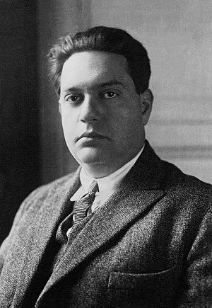 La création du monde - Darius Milhaud in 1923.