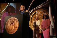 David E. Kelley, Jeri Ryan and Loretta Devine, May 2003 (5).jpg