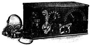 DeForest RJ6 Receiving Set from the March 1916 QST.png