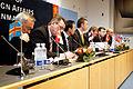 De nodiska statsministrarna haller pressmote under Nordiska radets session i Kopenhamn 2006.jpg