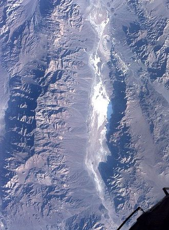 Death Valley - Image: Death Valley from space