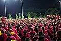 Debate Night - Drepung Loseling Monastery (Karnataka - India) (32877227003).jpg