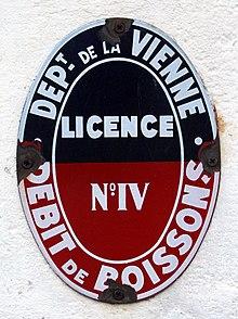 Grande Licence Restaurant Prix