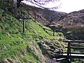 Deep Clough Footbridge-Signpost - geograph.org.uk - 733843.jpg