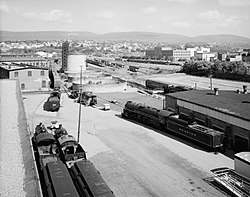 Delaware, Lackawanna and Western Railroad Yard, Scranton.jpg