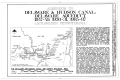 Delaware and Hudson Canal, Delaware Aqueduct, Spanning Delaware River, Lackawaxen, Pike County, PA HAER PA,52-LACK,1- (sheet 1 of 4).png