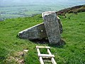 Demise of a Trig. Pillar - geograph.org.uk - 202933.jpg