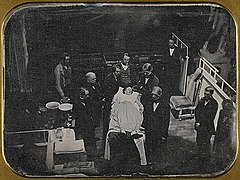 Demonstration surgical use of ether 1847 daguerreotype.jpeg
