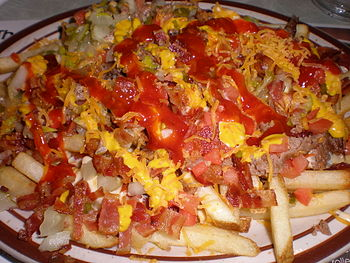 Denny's Taking Back Bacon Burger Fries, a dish...