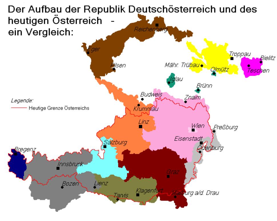 Der Aufbau der Republik Deutschösterreich