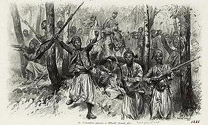 3rd Algerian Tirailleurs Regiment - 3rd Algerian Tirailleurs Regiment at Woerth in 1870.