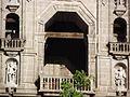 Detalle de campanario de Catedral de Morelia.JPG