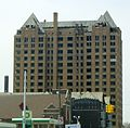 Detroit Lee Plaza vacant West Grand near Grand River.jpg