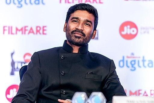 Dhanush at the Filmfare Awards South 2017 Press Meet