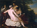 Diana with her nymphs by Jacob Adriaensz Backer.jpg