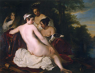 Rest of Diana and Her Nymphs
