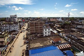 Dibrugarh - Dibrugarh aerial view