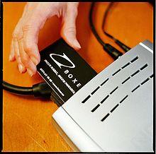 Decoder per la televisione digitale terrestre con supporto per smart card