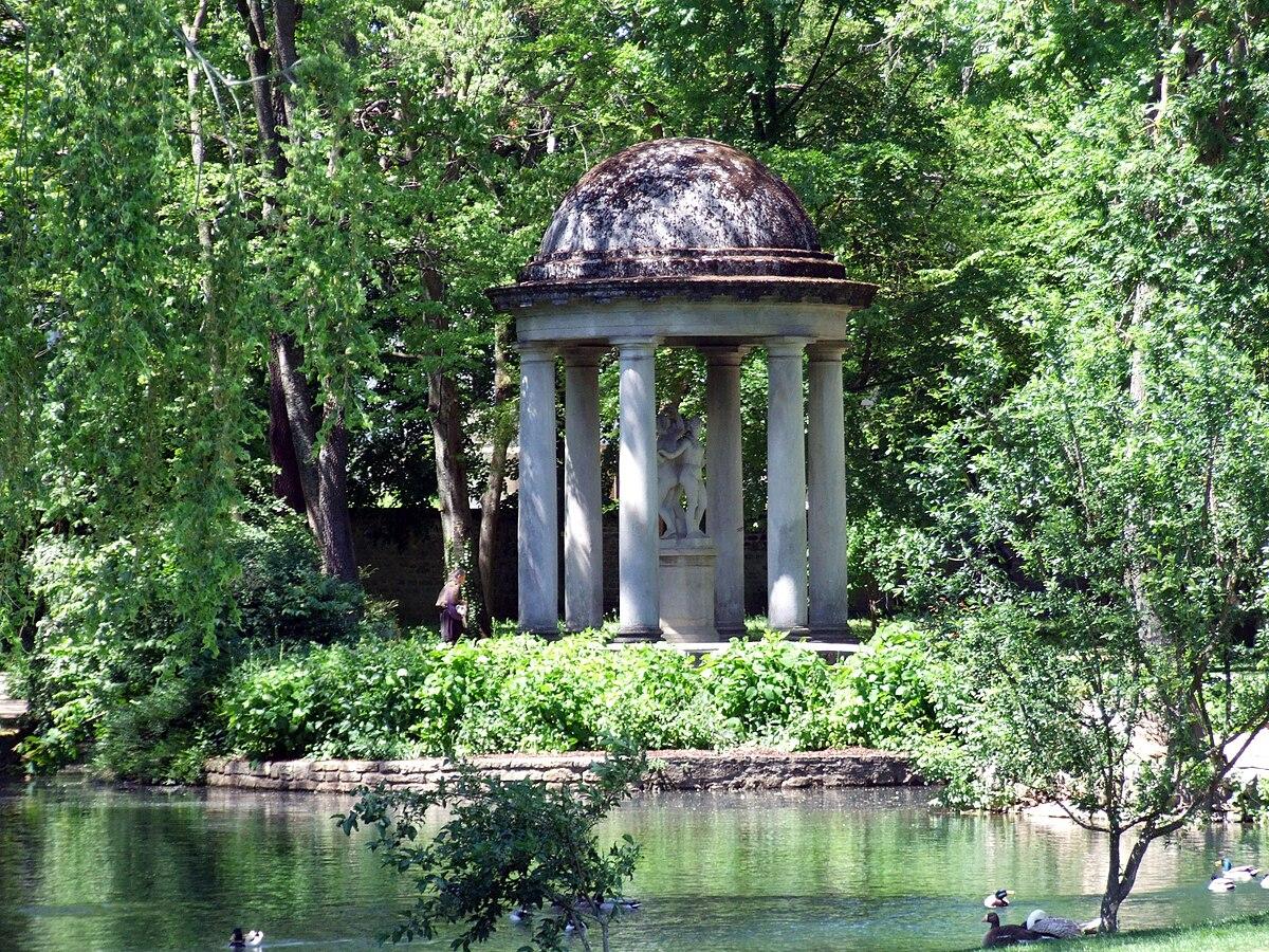Jardin botanique de l 39 arquebuse de dijon wikip dia for Jardin de la